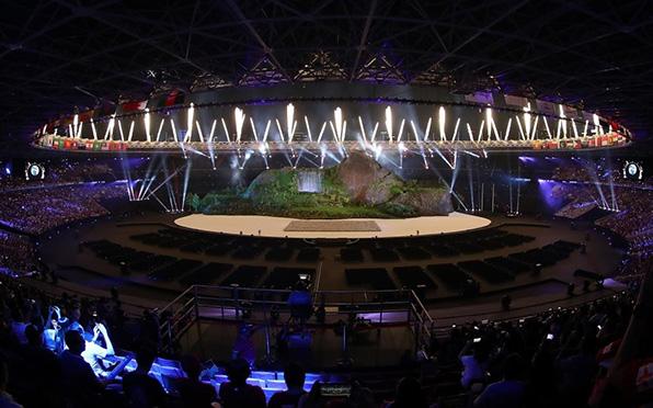 雅加達亞運會開幕式