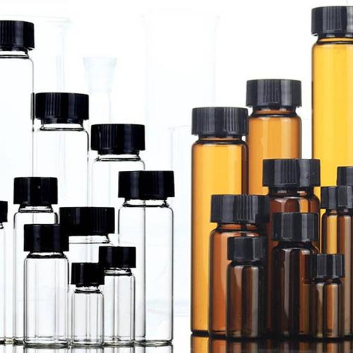 透明螺口玻璃样品瓶