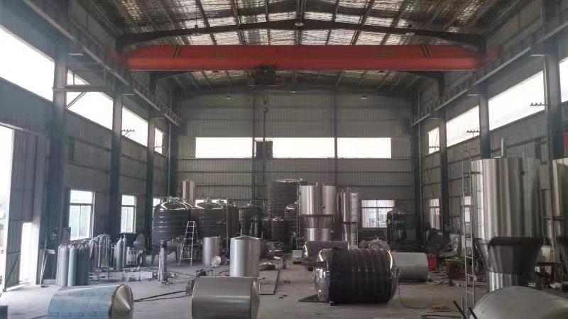 水处理设备生产车间