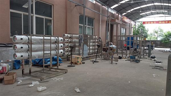 生活污水处理设备生产车间