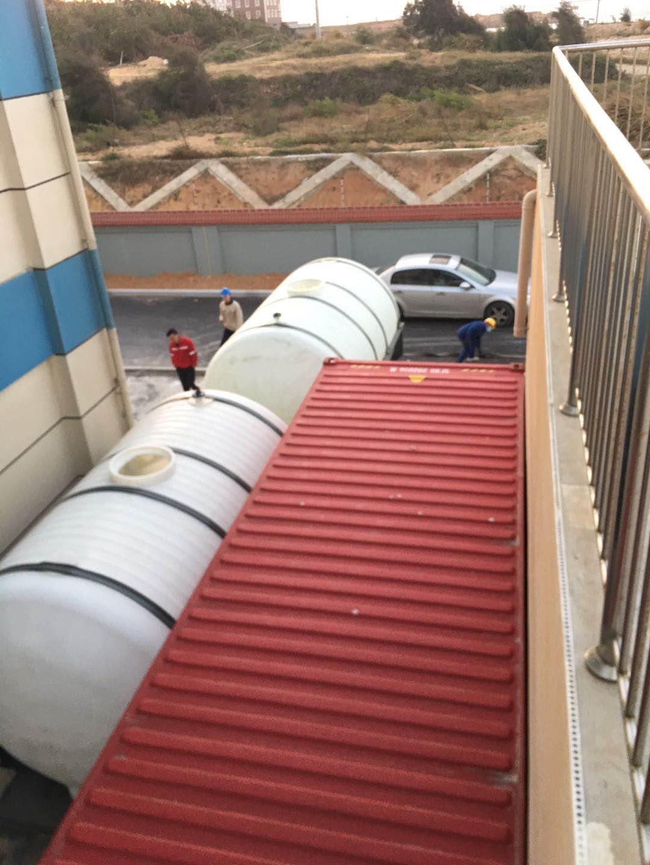 華電風電變電站一體化海水淡化到位安裝!