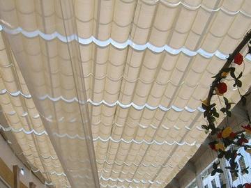 遮光电动天棚帘