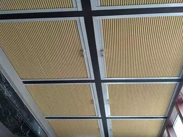遮光蜂巢天棚帘