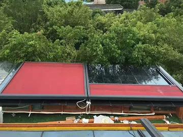 房顶电动天幕