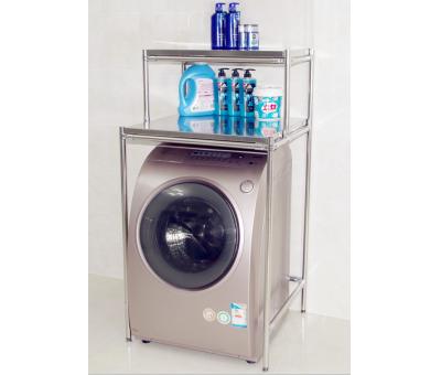 双层洗衣机置物架