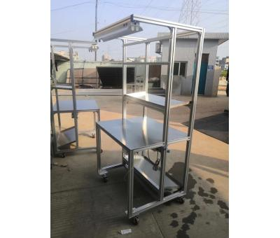 铝型材工作台日常该如何保养?