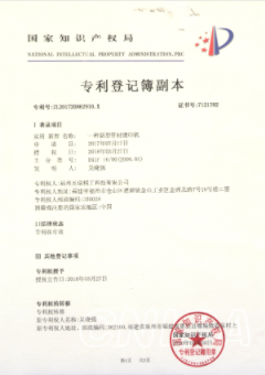 專利登記簿副本