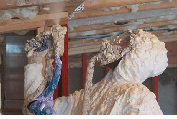 聚氨酯喷涂在外墙保温上发挥的作用