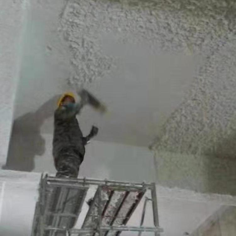 福建省夏门市商贸区地下室顶棚无机纤维喷涂材料供应