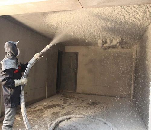 关于福州耐火纤维喷涂施工的应用!