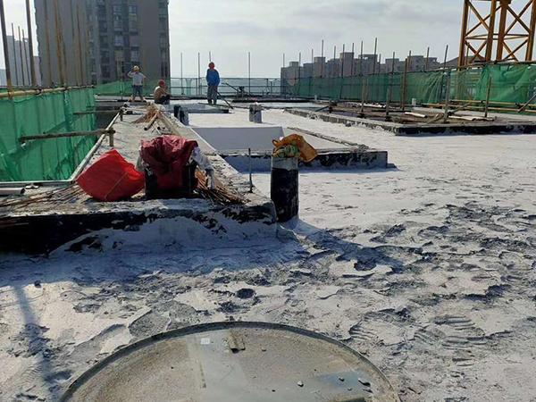 屋面保温发泡混凝土施工