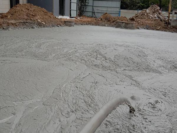 气泡混合轻质土填筑