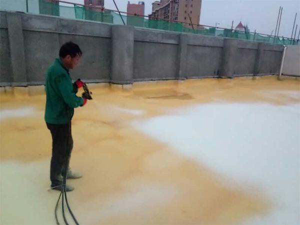 聚氨酯发泡屋面保温