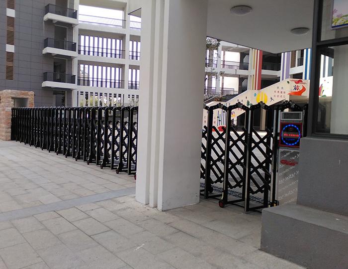 仓山第七中心小学电动伸缩门