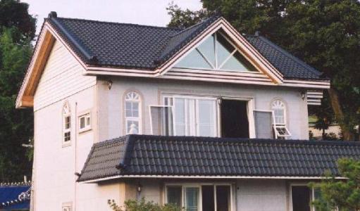 别墅屋顶瓦