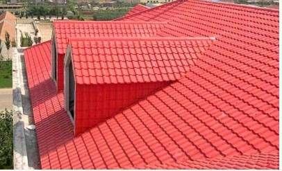 楼房屋顶瓦