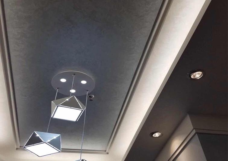 天花吊顶用艺术漆效果展示