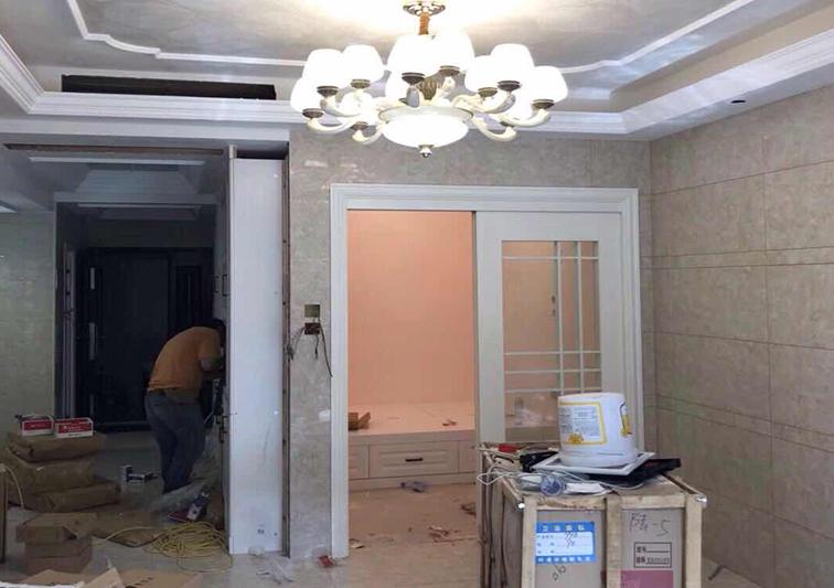 家装艺术漆施工