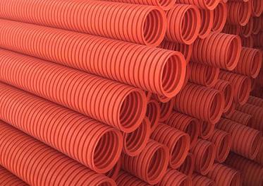 增强型HFB波纹电力电缆保护套管