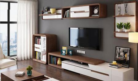 现代风格电视柜组合