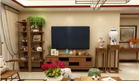 东南亚风情电视柜组合