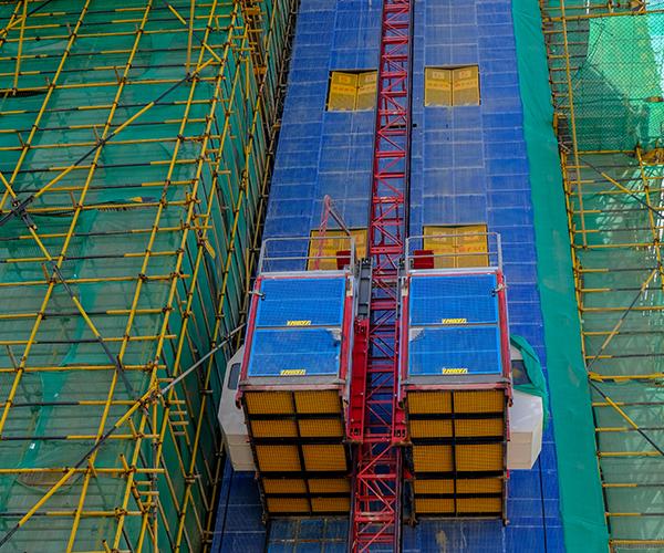 工地货梯防护网