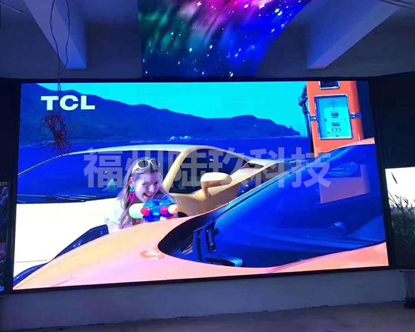 长乐LED全彩显示屏屏幕尺寸设计根据