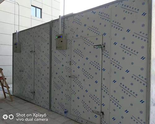 凤翔酒店可移动式冷库