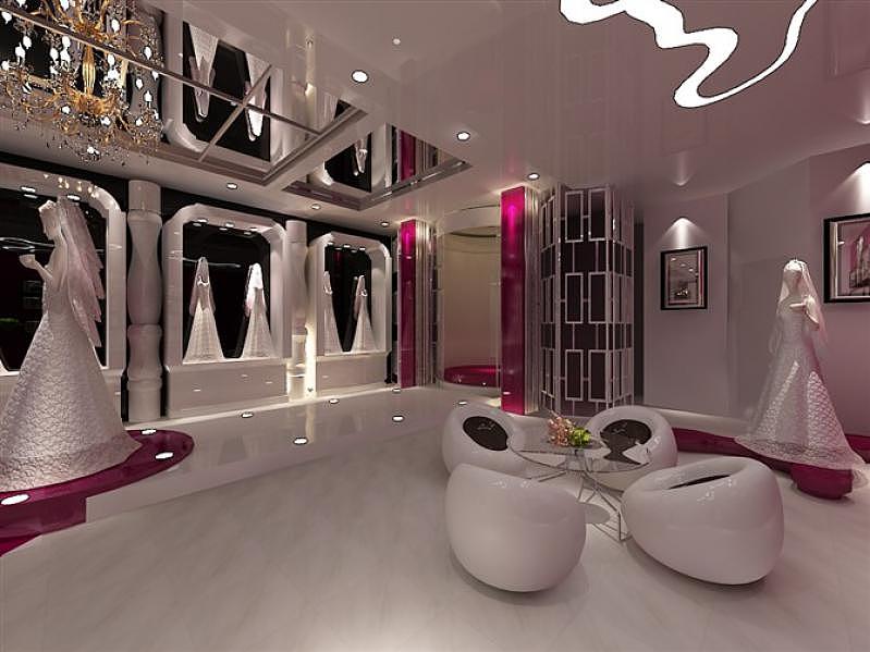 婚紗店家具