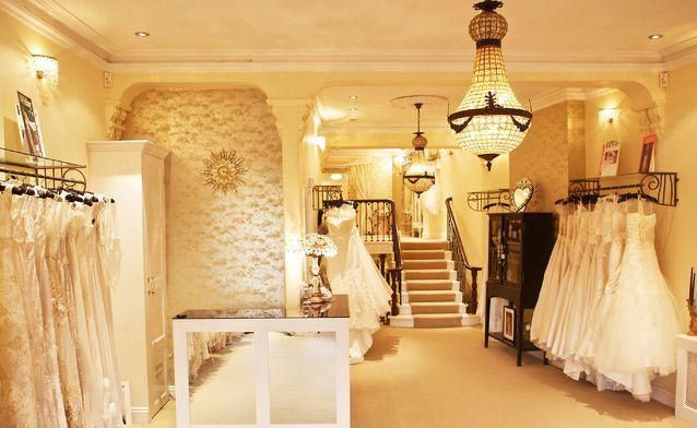 婚纱店家具设计