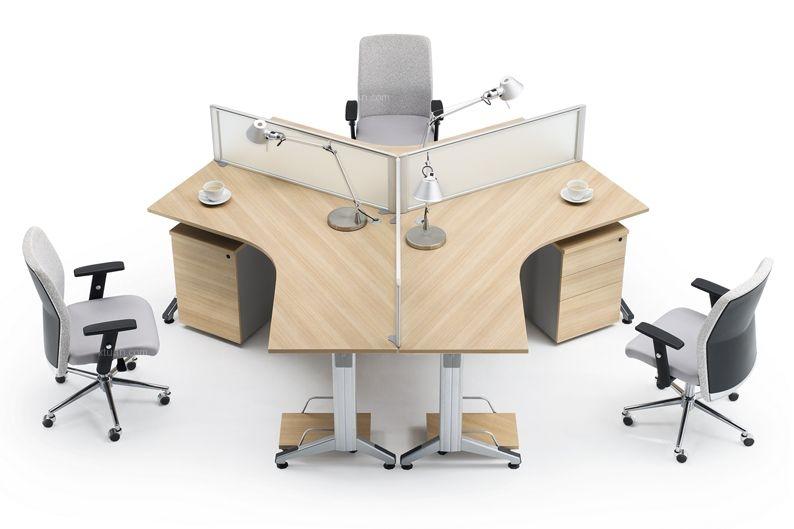 隔斷式辦公桌