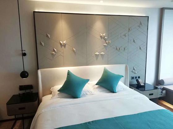 保利洲际酒店家具样板房由福州乐麦家具制作