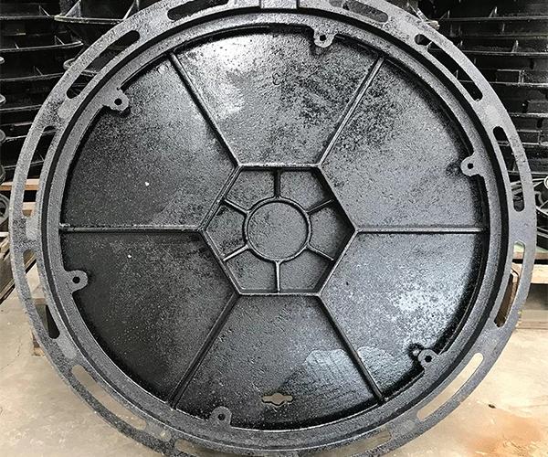 球墨生铁圆井盖