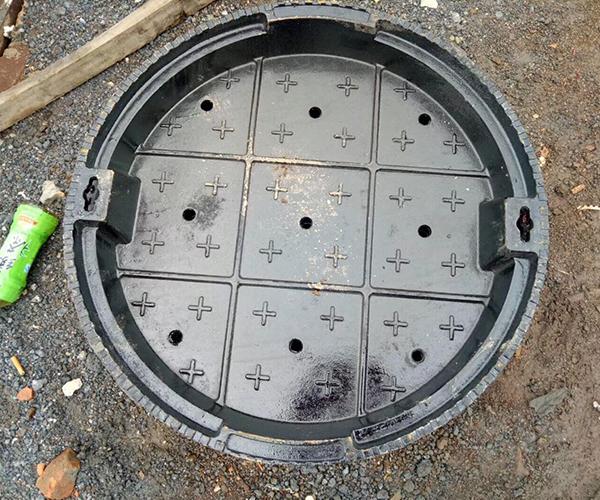 下沉式球墨铸铁井盖