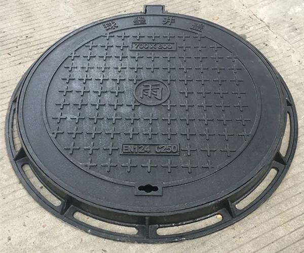 球墨铸铁圆型井盖