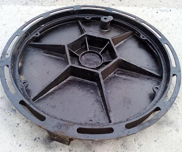 圆型球墨铸铁井盖