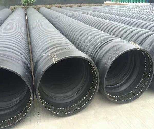 hdpe塑钢缠绕管排水管