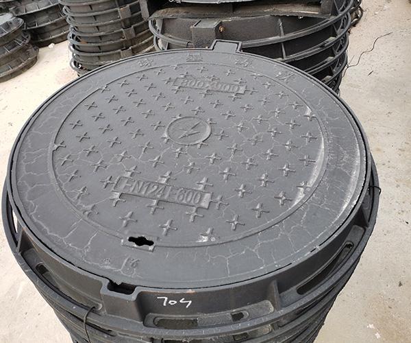 圆形球墨铸铁井盖