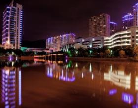 长乐城区夜景亮化
