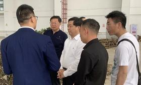 热烈欢迎光山县政协主席刘敬洲领导一行莅我司参观考察