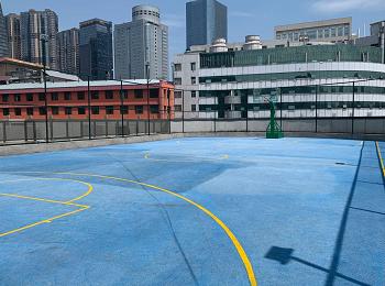 福州鼓楼区单位篮球场围网灯光项目