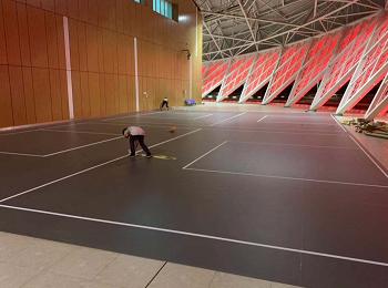 福州海峡奥体室外篮球场PVC