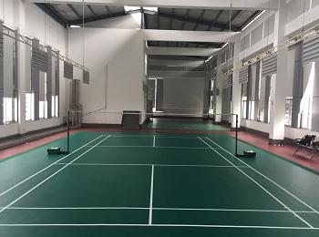 福州单位PVC运动羽毛球场案例