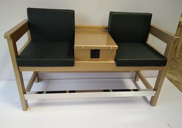 台球专用沙发与会员杆柜