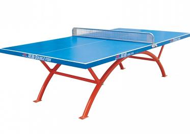 双鱼SW-318(蓝色)室外乒乓球台(一体化台面)