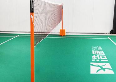 方形羽毛球网柱