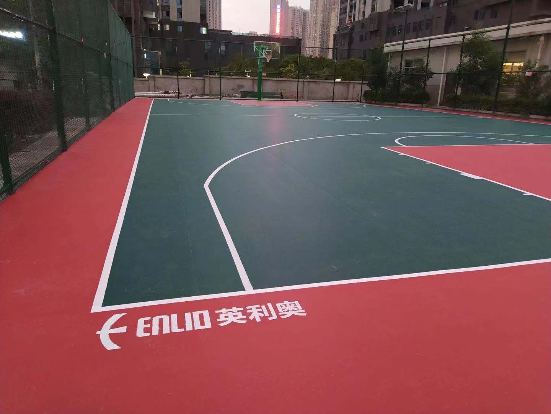 室外运动篮球场案例