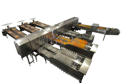 MT-101-3蛋品分级装托生产线