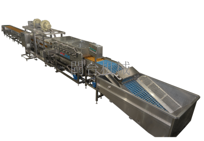 MT-106-D2鴨蛋清洗烘幹機