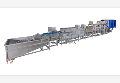 MT-106-D3蛋品清洗烘幹生產線